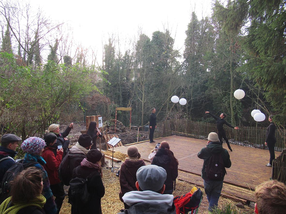 Espace d'accueil - Jardin écologique