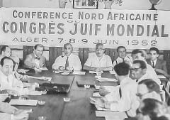 Juden, Algerien, Algier, Jewish World Congress