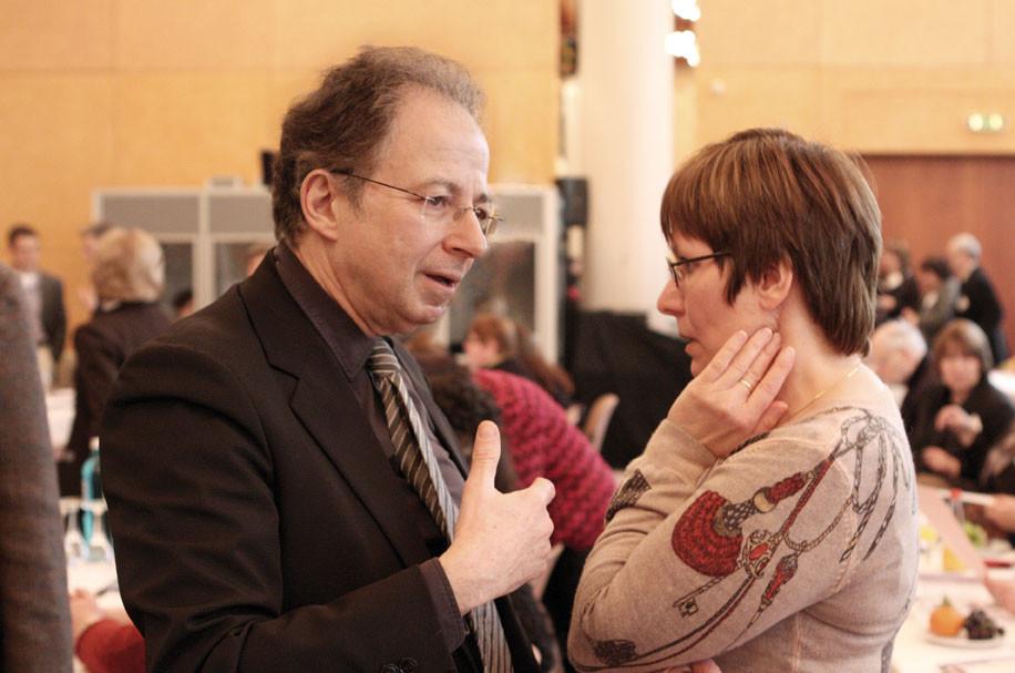 Prof. Dr. Doron Kiesel und Noemi Staszewski waren für die Programmgestaltung verantwortlich.