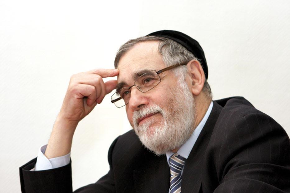 """Oberrabbiner Albert Guigui amtiert in der """"Großen Synagoge"""" und ist Sprecher der Europäischen Rabbinerkonferenz."""