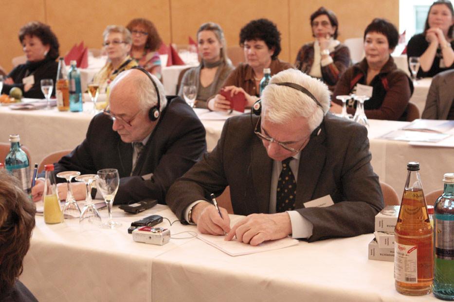 Aus Kiew reisten Vasil Mykhailowsky und Boris Zabarko an.