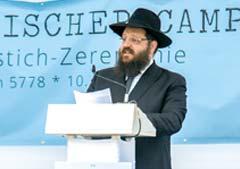 Rabbiner Yehuda Teichtal, Jüdischer Campus Berlin, Chabad Lubawitsch Berlin, Pears Jüdischer Campus, Spatenstich