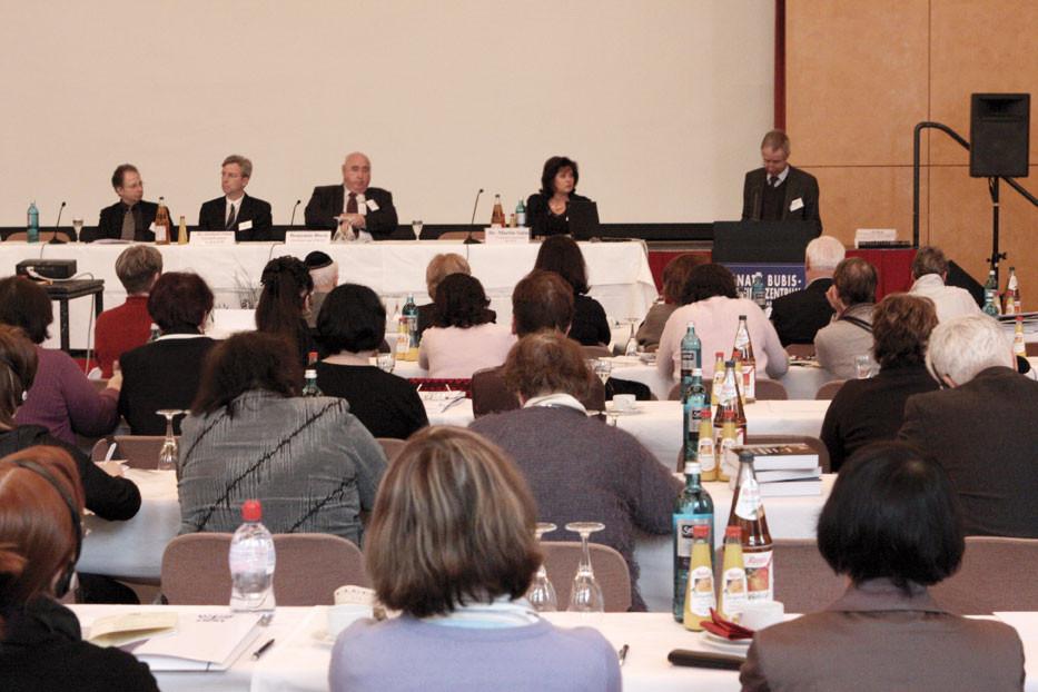 Aus Europa, Israel und den USA kamen die Teilnehmer der Konferenz.