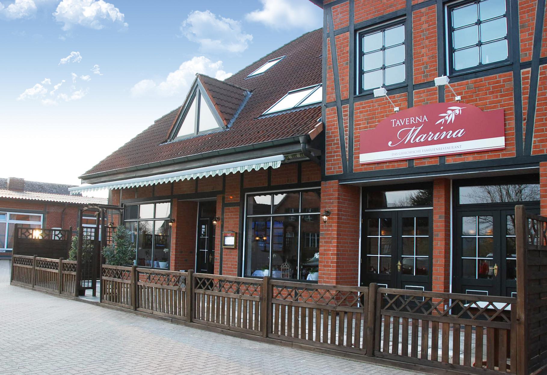 Taverna Marina im Burghaus in Linau