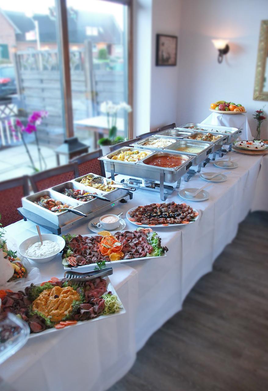 Für Feiern: Griechisches Buffet