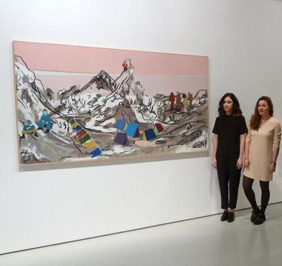 Ertibil 2014 Diputación Foral de Bizkaia Sala Rekalde, Kristina y María, maría azcona 2014