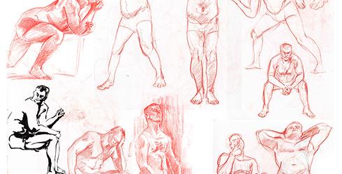 Zeichnungen von Simone