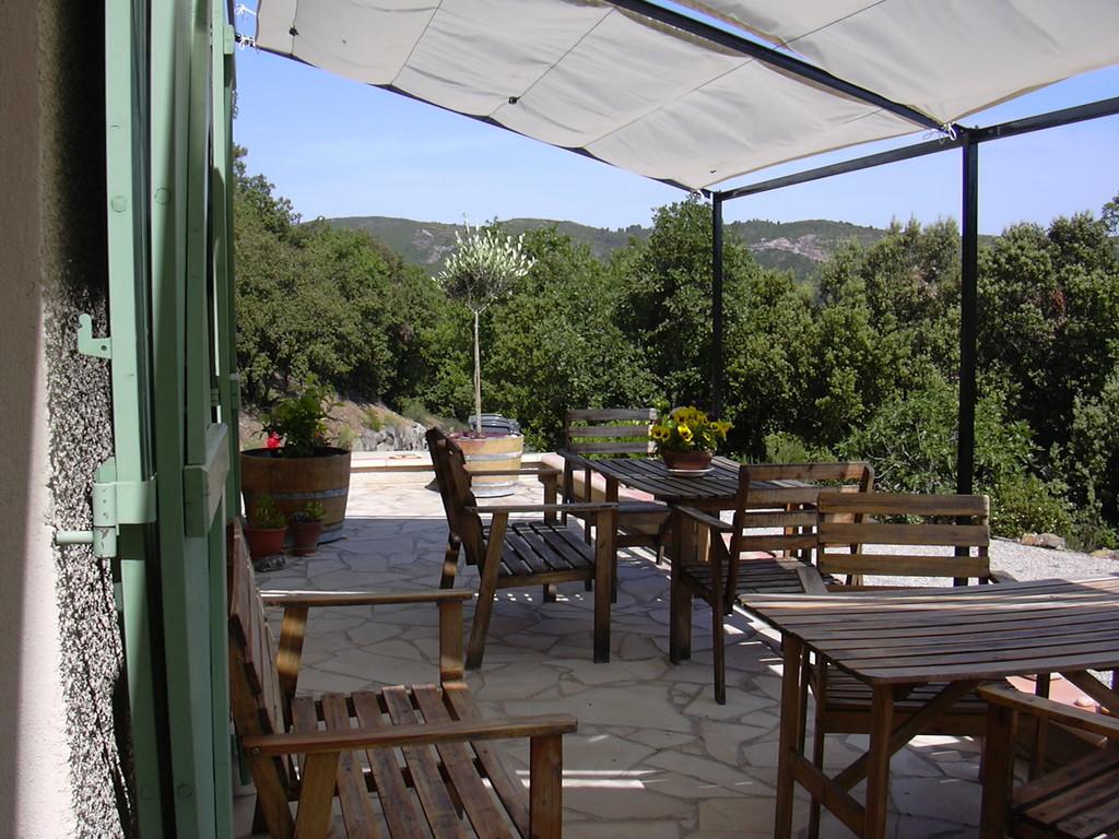 Terrasse - Chambres d'hôtes Le Cadran Solaire
