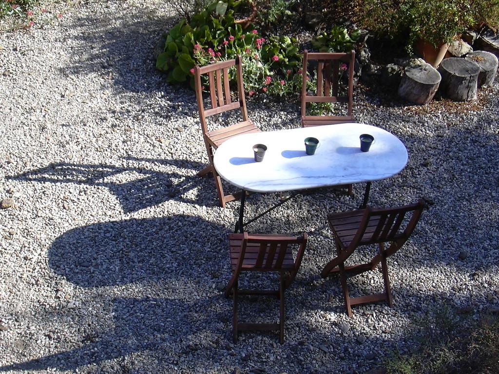 Jardin - Chambres d'hôtes Le Cadran Solaire Label Environnemental Clef Verte