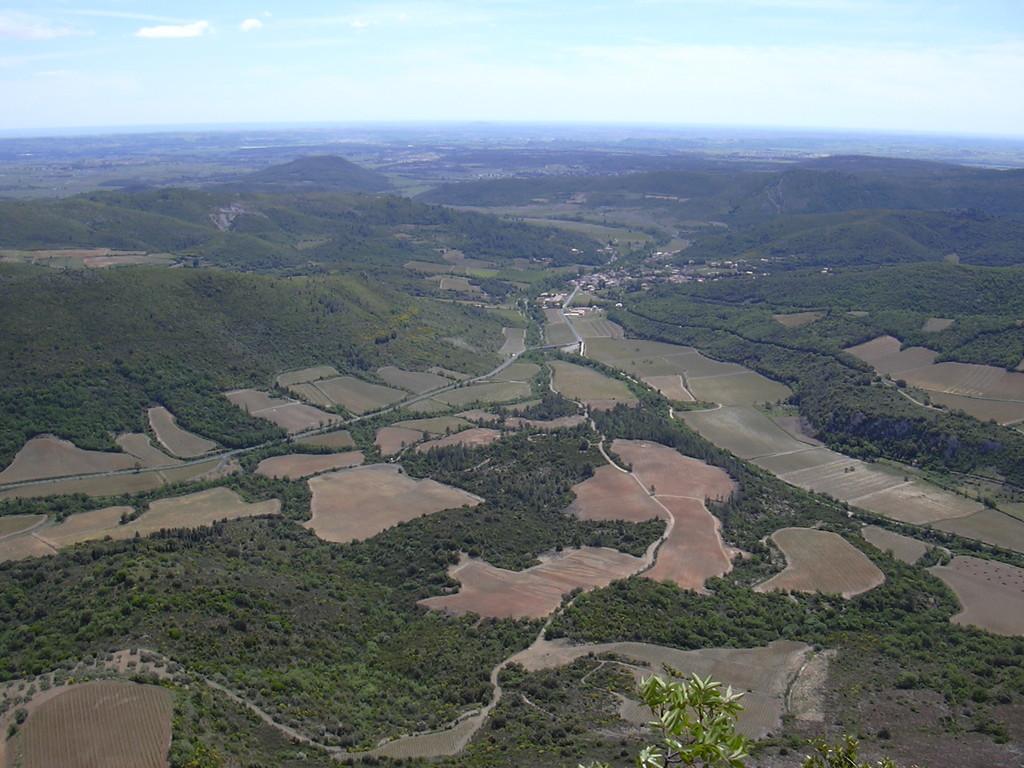 Cabrières vu du sommet du Pic de Vissou
