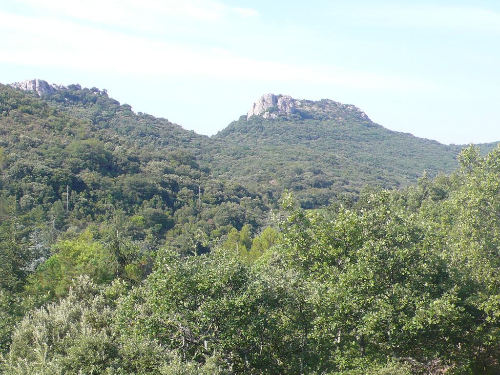 Rocher du Château à Cabrières