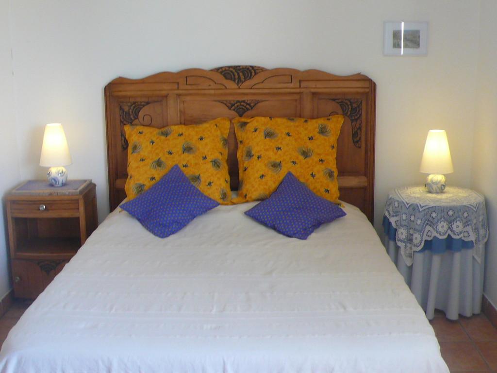 Détail chambre - Chambres d'hôtes Le Cadran Solaire à Cabrières