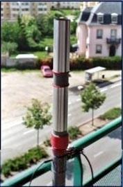La foto  rappresenta l'antenna per i 14MHz