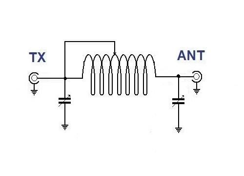 hf - accordatore per antenna