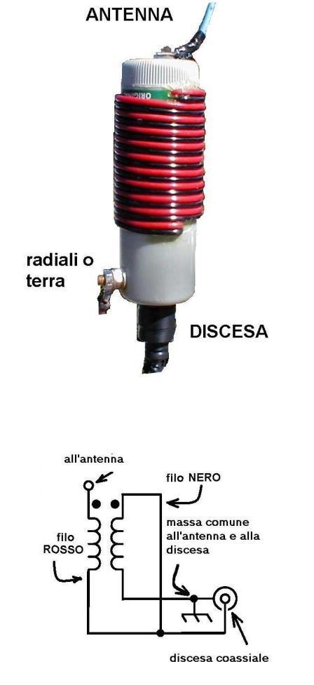 Magnetic Balun Un Un Antenne: Antenne Canna Da Pesca Con UnUn 4:1