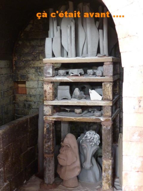 Une partie de l'enfournement entrain de cuire ....