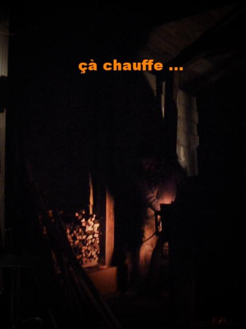 çà chauffe !!!! cuisson dans le Noborigama de Caco et Sylvie à Bouquet de Flammes