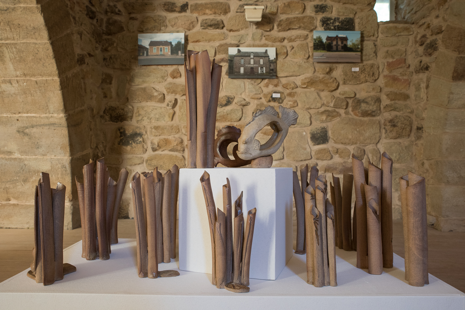 Photos - Chris Spiesser -    Vases - Sylvie Ruiz Foucher -    Sculptures - Caco -