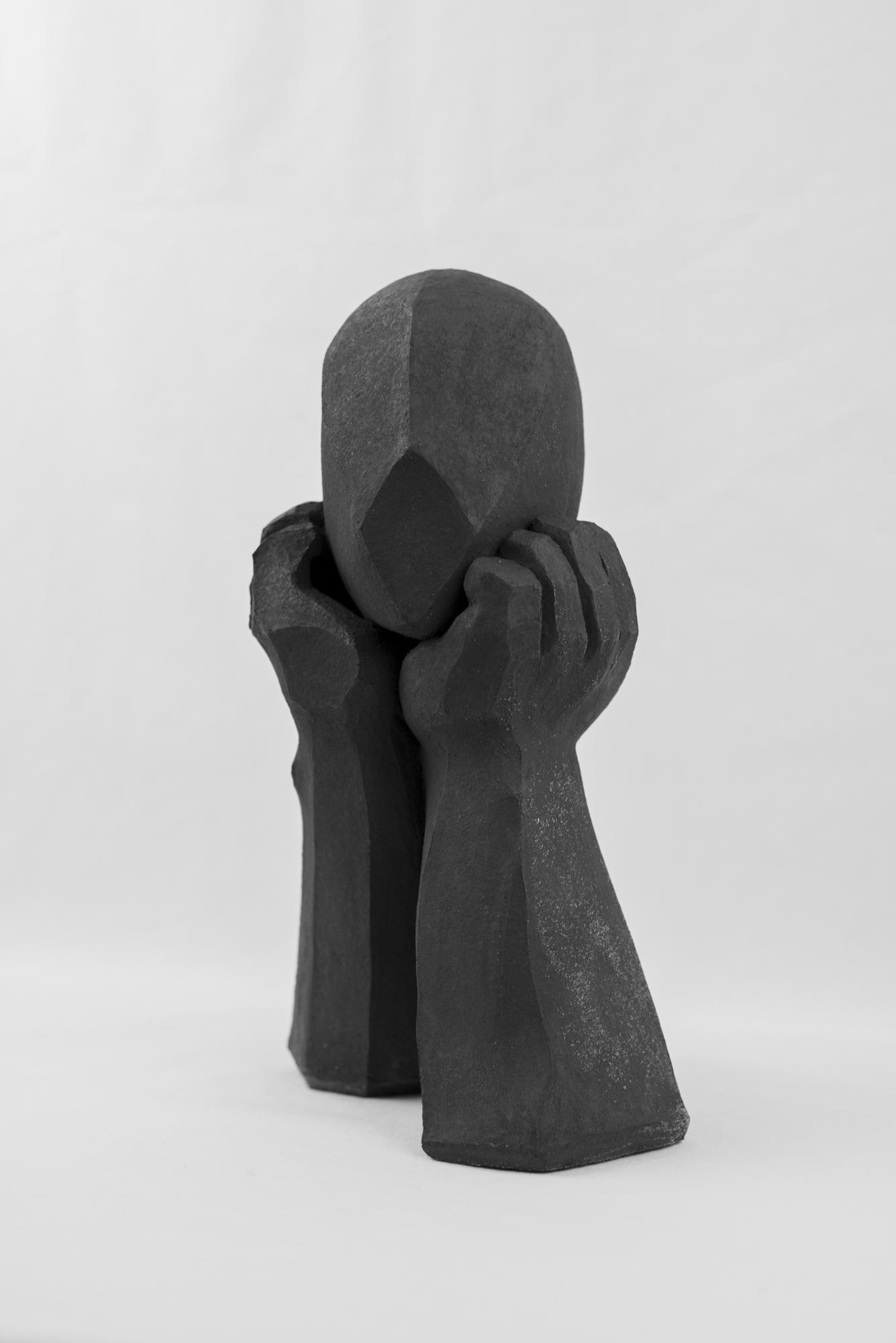 """""""Prise de tête"""" sculpture Juan José Ruiz dit CACO Pièce unique 1/1 Photographie : Christophe Spiesser"""