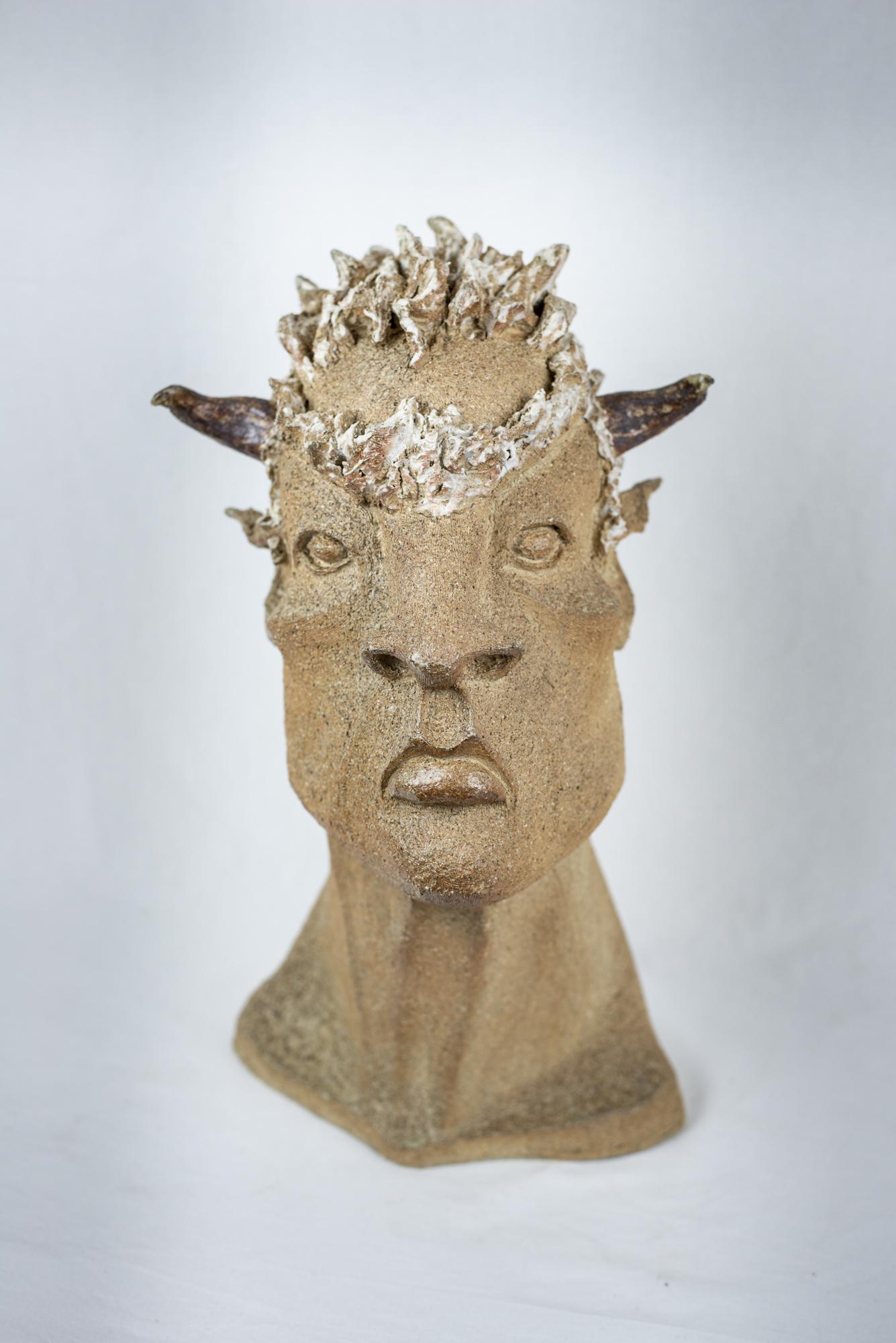 """""""Minotaure"""" sculpture Juan José Ruiz dit CACO Pièce unique 1/1 Photographie : Christophe Spiesser"""