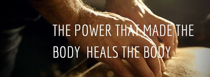 The power that made the body heals the body