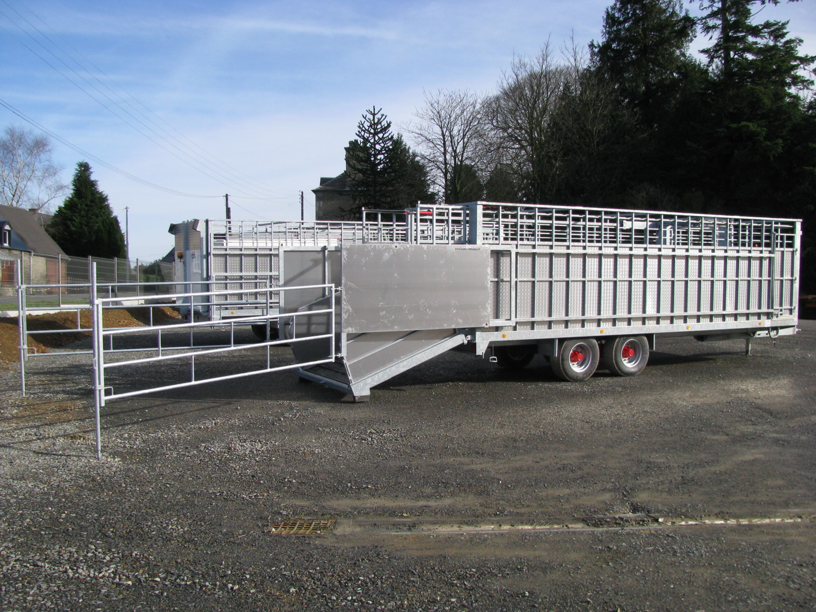 Barrière Coulissante avec Panneaux