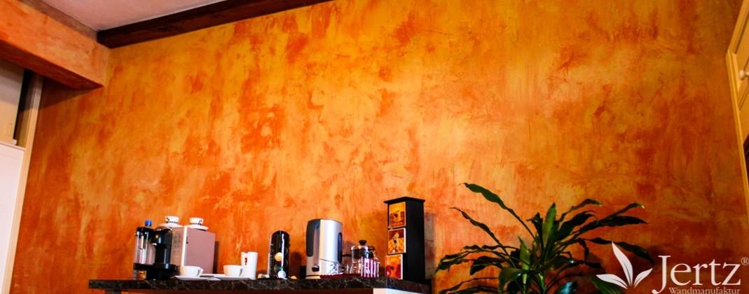 Wohnzimmer Wandgestaltung im Landhausstil - Wandgestaltungen