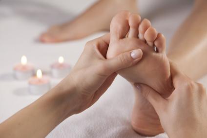 Massage Praxis Bern Fussmassage Denis Verena Waser