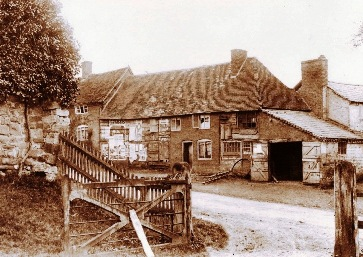 The Smithy, Solihull Road, c. 1891
