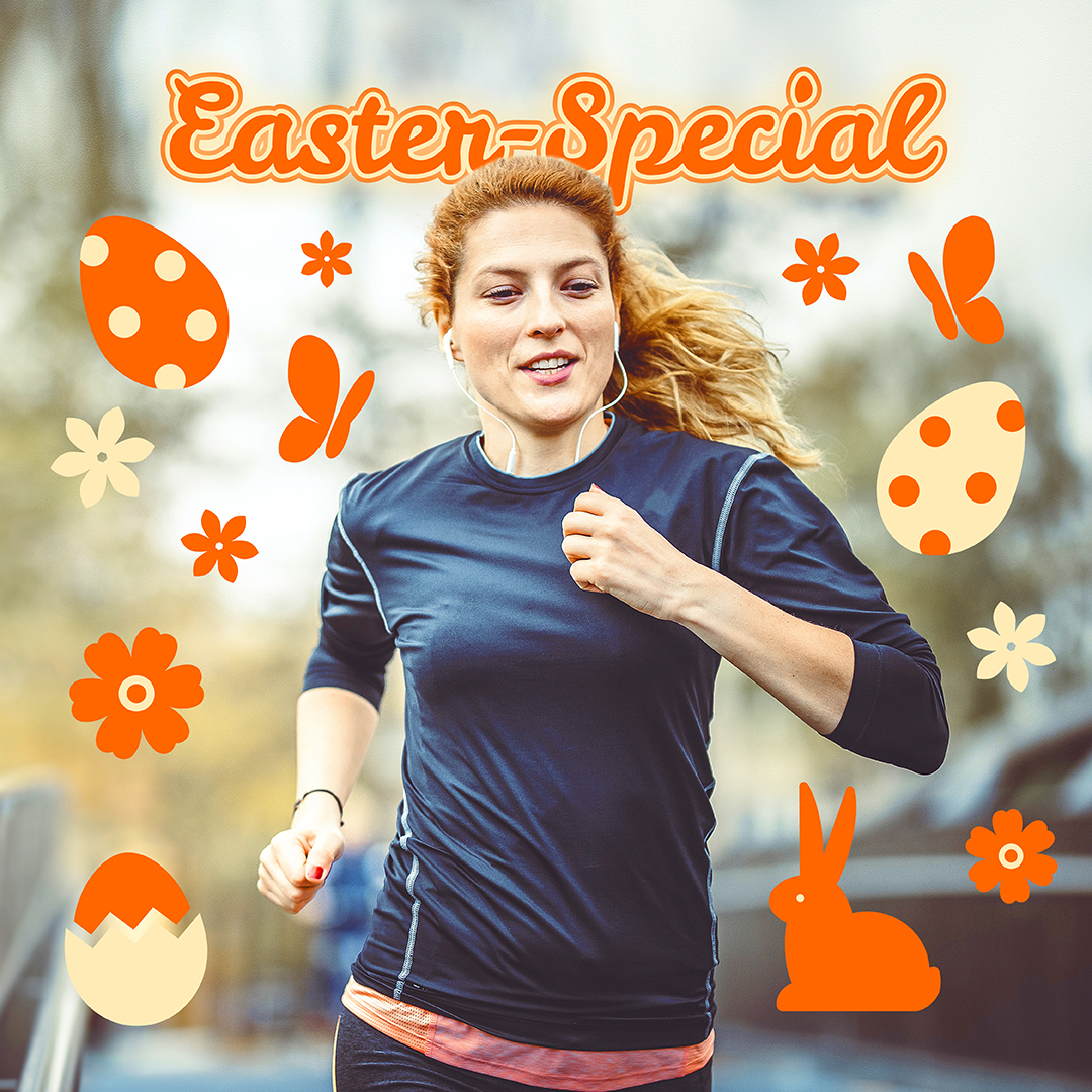 Easter-Special Run 'n' Win - virtueller 5 km Lauf Migros