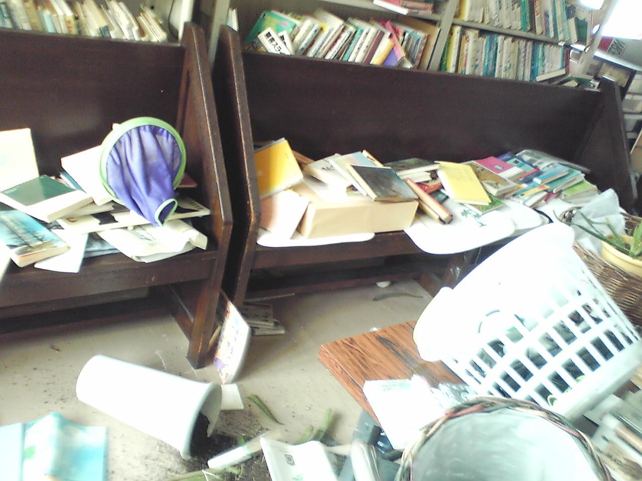 4月7日 夜半の余震