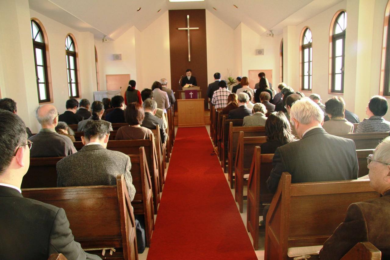 就任式(正教師)2013年1月27日(日)