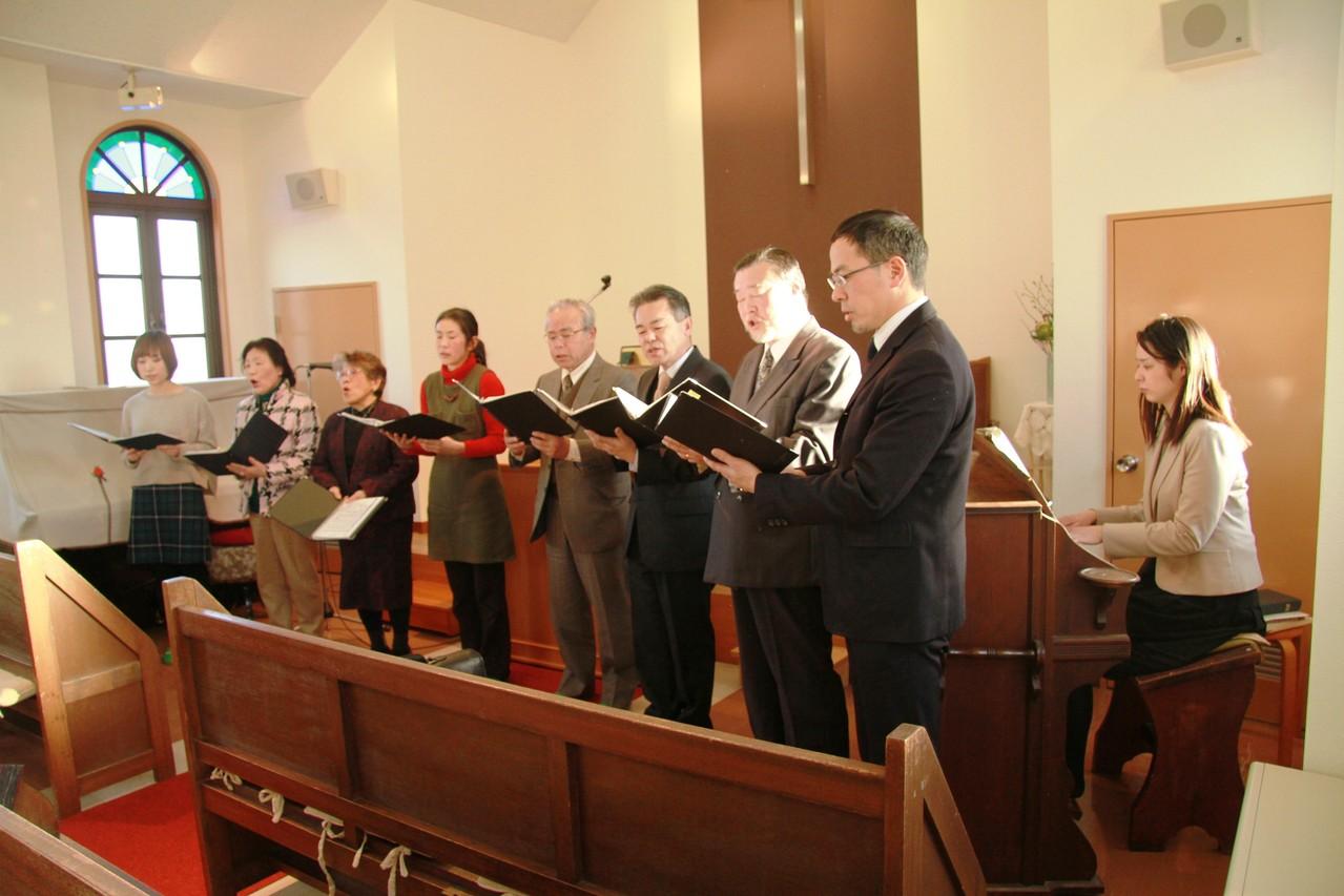 名取教会聖歌隊の奉唱
