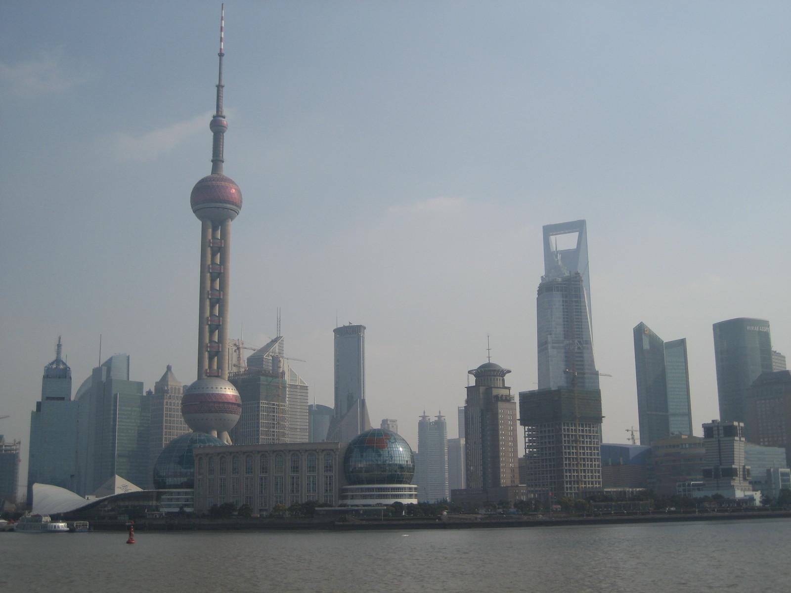 Shanghai's Wolkenkratzer