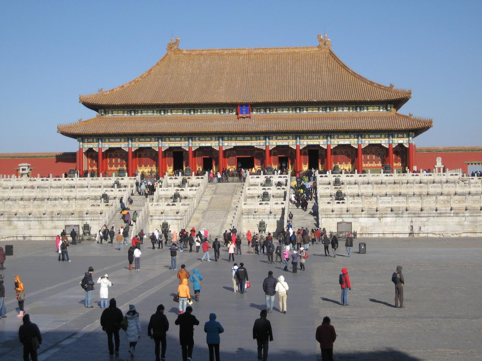 Platz des Friedens Peking