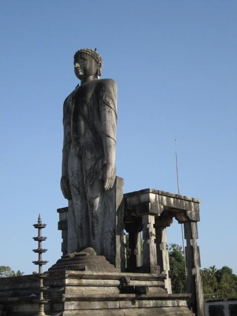 Indien, Karkal. Bahubali Statue