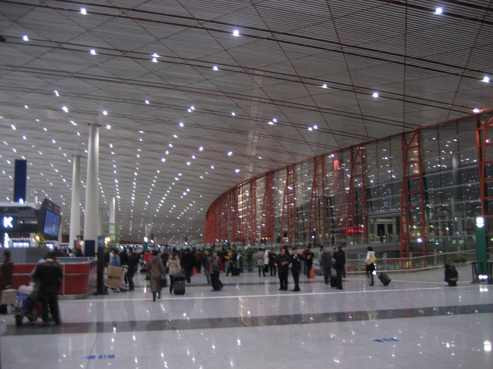 Flughafen in Peking