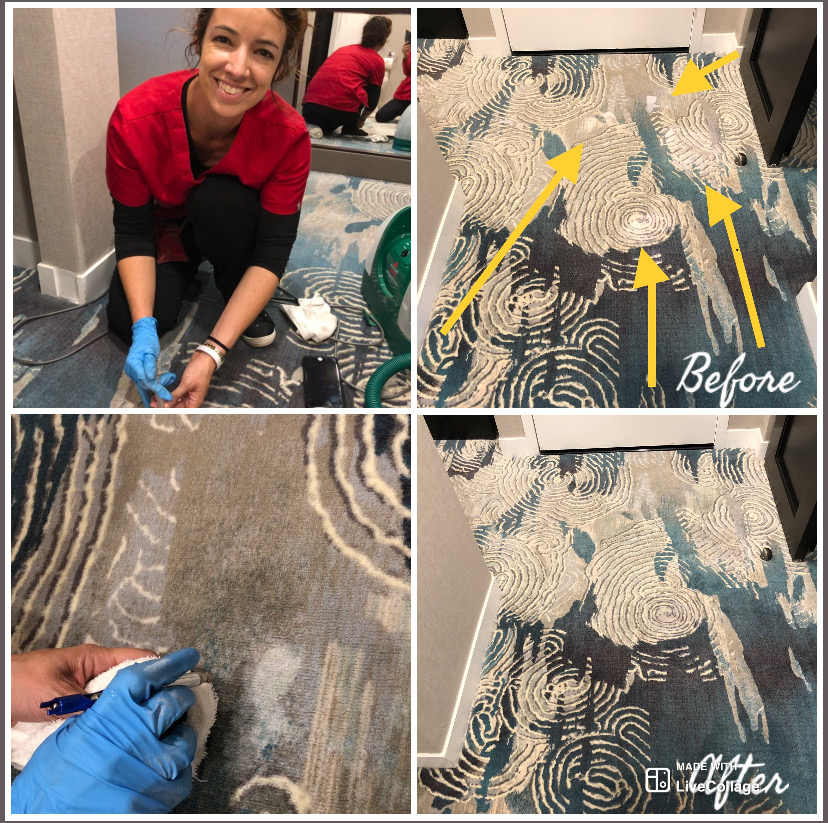 Can Carpet Dyeing Restore Faded Carpets in Hotels in Palm Beach Florida