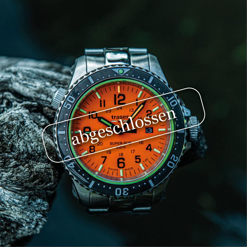 Abtauchen mit der neuen «traser»-Uhr