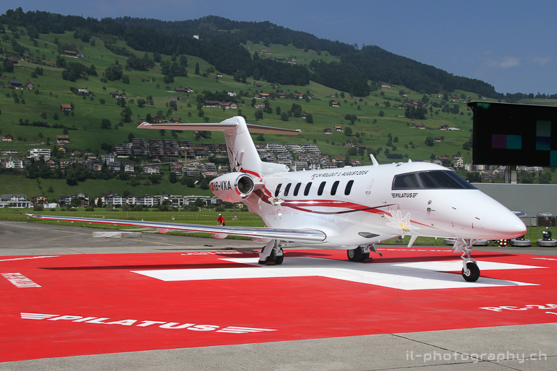 rollout pilatus PC-24, stans, easa-certification