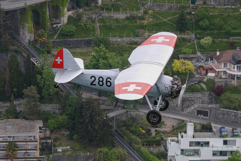 286, HB-RAG, Dewoitine, D-26, Hangar31, Montreux, Oldtimer, Flugzeug