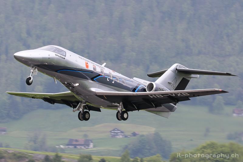 testflug pilatus pc-24 zertifiktation