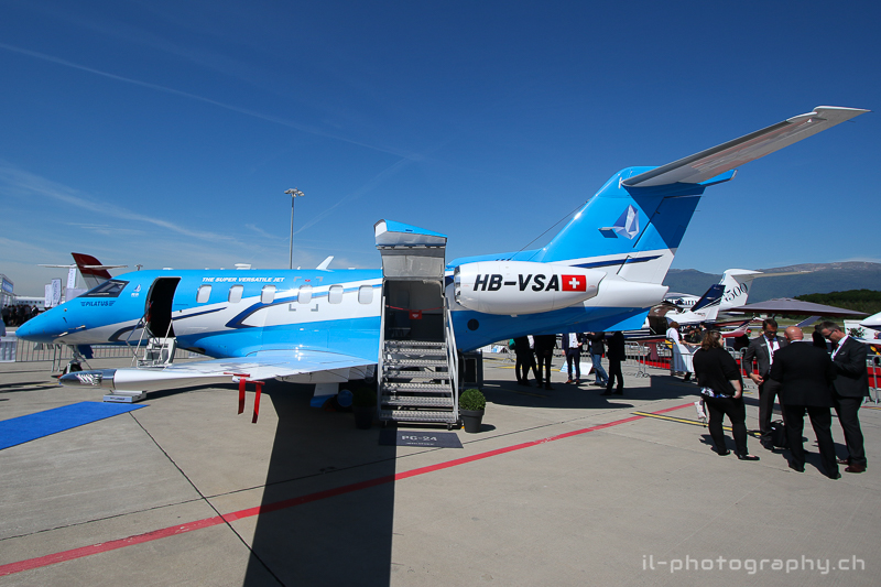 EBACE 2017 Pilatus PC-24 certification