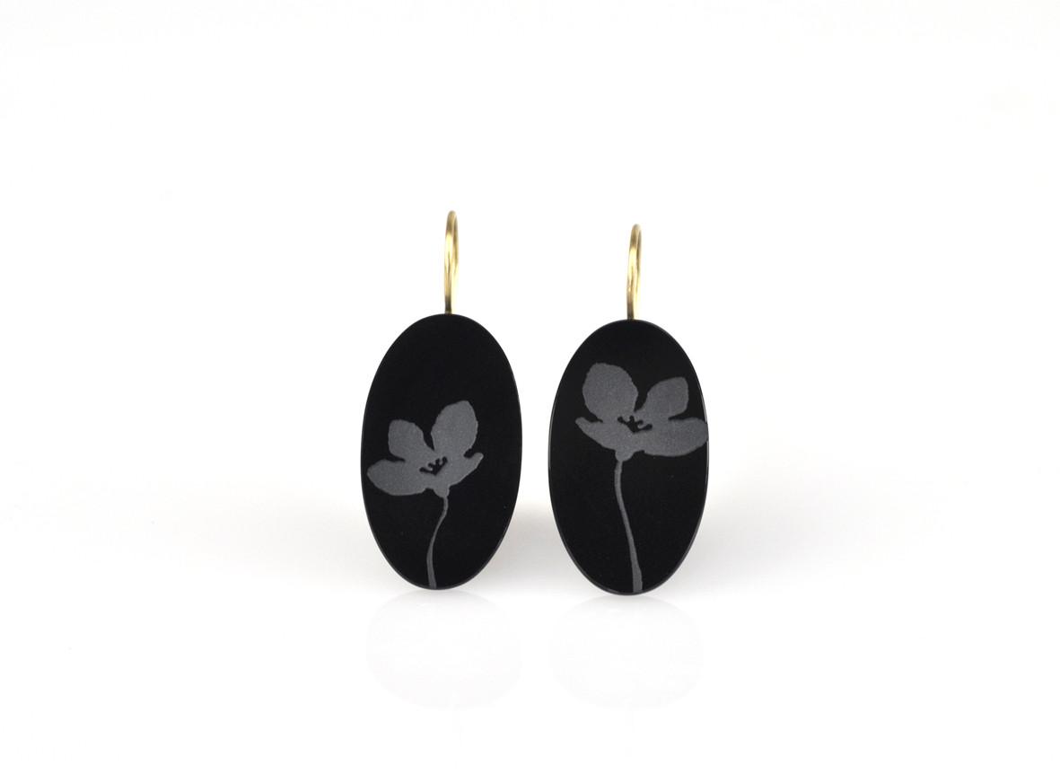 ma fleur      Onyx, 750/- Gelbgold