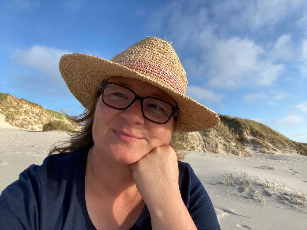 Am Strand von Børsmose - Dänemark - September 2021