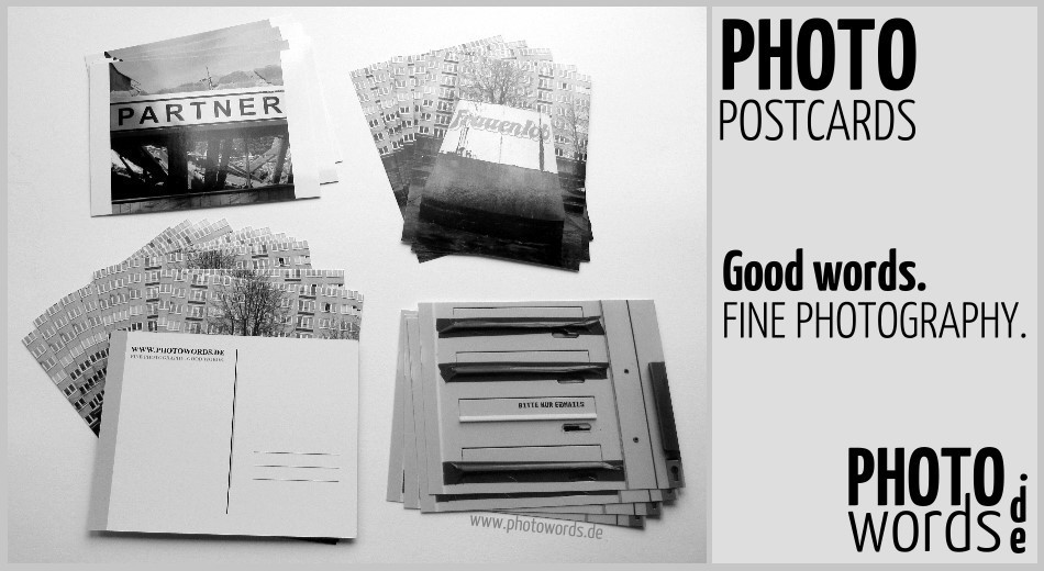 www.photowords.de  - PHOTO  POSTCARDS