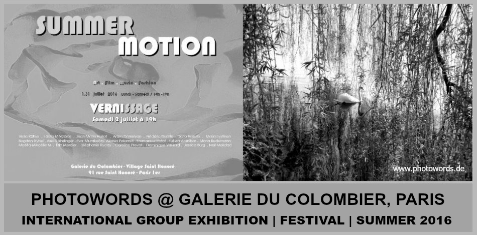 PHOTOWORDS @ Galerie du Colombier in Paris!