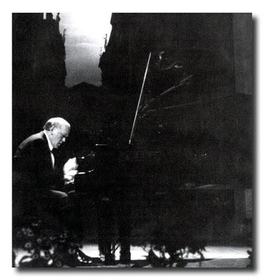 Al Teatro Olimpico di Vicenza nel 1986