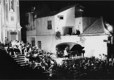 Concerto di Richter a Cervo. Italia, 1967