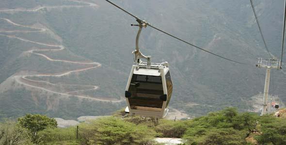 QUE HACER?  Teleférico en Panachi... Disfruta de nuestra maravilla Nacional